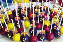 messi barcelona birthday party