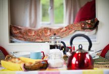 Glamping & the Great Outdoors / Sublime Shepherds Huts, Yummy Yurts, Lovely Log Cabins and the stunning outdoors!