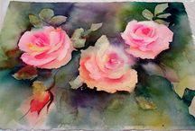 Blumen (acryl)