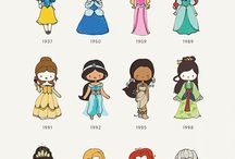 Disney princess art