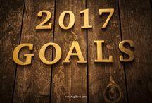 ⭐️ 2017 Goals ⭐️