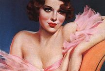 vintage pinups and prints