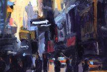City Scenes art