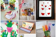 Mother's Day Crafts / Craft ideas for Mother's Day - cards and gift ideas perfect to make with babies, toddlers, preschoolers and older children