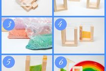 rainbow sand blocks