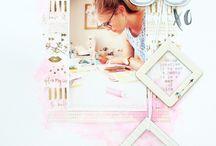 "Scrapbook inspiration - 9x12"""
