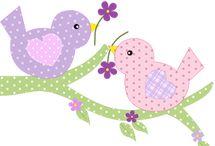 madárkák dekoráció