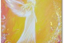 anděl malba