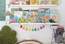 Rainbow kids rooms
