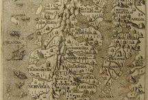 vanhoja karttoja