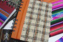 | Anotadores Anillados | / Anotadores de tapa dura forradas con telas típicas del norte. Para que te acompañen en el día a día  / by makikuna