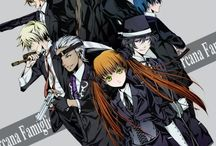 Arcana Famiglia / Love this anime so much hope you like the pins on it