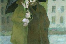 Malerei / Hier zeigt Ernst Leonhardt eine Auswahl seiner Bilder.