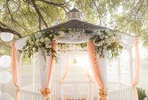 Sunset Gazebo Wedding