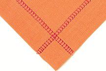 Hem stitch Linens with Machine / by Debra Beard