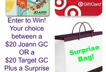 Giveaways/Sponsored posts / by Barb Camp -Second Chance to Dream