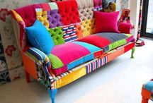 Colourful Furniture / by Margot Robinson