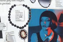 """""""Black Death"""" Collection featured @ YOU Magazine Dec. 2013 / """"Black Death"""" Collection featured @ YOU Magazine Dec. 2013 """"Black Death"""" Collection by Pericles Kondylatos Available to buy on-line @ Etsy e-shop: https://www.etsy.com/shop/PericlesKondylatos"""