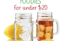 20 Gifts for FOODIES for under $20! / by Green Thickies
