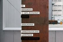 Infrastructure / Public Spaces Signs