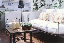 Exteriorismo / Terraza y jardín