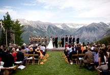 "Weddings / Can you imagine saying ""I do"" in a more gorgeous setting? Have your wedding in Telluride, Colorado and experience the best day of your life... in the incredibly scenic, charming town of Telluride."