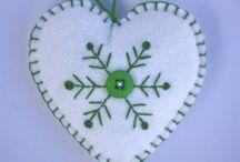 Felt Heart Christmas / by Carolina Quesada