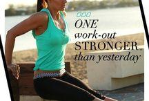 Time to get fit / Healthy / by Jennifer Bordner Klein