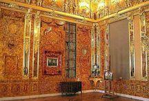 Екатерининский дворец / Екатерининский дворец. 1752 - 1757. Архитектор В. В. Растрелли.
