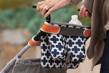 DIY stroller caddies