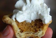 Thanksgiving Dessert Ideas!!!YUM / These dessert recipes look amazing!