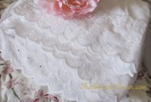 Lace / I like all types of lace, lace trimmed just screams romance and feminine. / by Katherines Corner