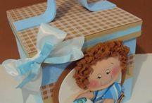 cajas ajuar bebe