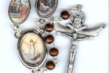 Wood Bead Rosaries