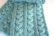 Knit Reversible Cables
