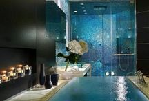 Interior house pool
