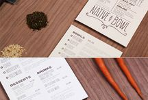 Menu Design / by Gina Money-Pony