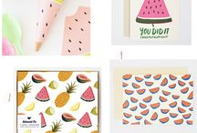 Trends Watermellons & Pineapples