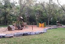 Commercial Playgrounds / Call in the pros for your commercial playground installation.