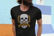 T-skjorter: Skjegg