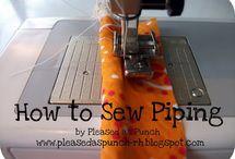 sewing / by Dana Minchew