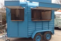 Horse Box Conversions / Want something a bit different? Many people are getting old Horse Boxes and turning them into catering/exhibition mobile units.