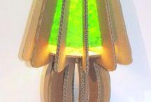 Luminaires carton / papier / Luminaires fabriqués en papier et/ou en carton !