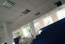 Wybrane realizacje / Na tablicy znajdują się wybrane projekty realizowane przez firmę VIBA.