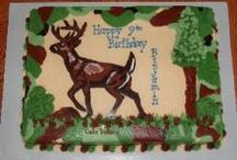 Cakes - Hunting / by Danielle's Taste Bud Ticklers