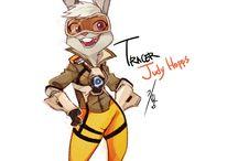Tracer Judy Hopps