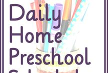 Preschool homeschool / by A Healthy Slice of Life