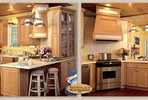 Sunny Lake Cabin - Showplace Cabinets / Covington Door Style