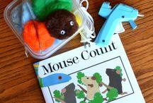 Math - Literature Connections / Fun ideas for teaching math  in the kindergarten classroom. Wonderful literature connections...