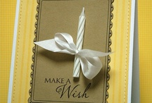 Cards - Special Occasions / Inspiration for those special moments in life.